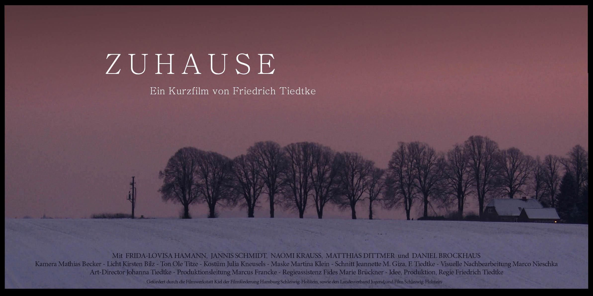 Zuhause Gewinner  Deutscher Nachwuchsfilmpreis 2015